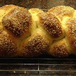 Sponge Method Challah Bread