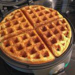 Lemon Milk Waffles