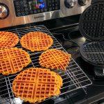 Tomato Biscotti Waffle – Savoury not Sweet