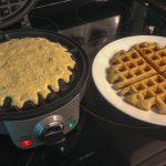 Oat Gluten-Free Lemon Milk Waffles