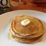 Oat Gluten-Free Lemon Milk Pancakes